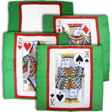 Set de cartas pañuelo