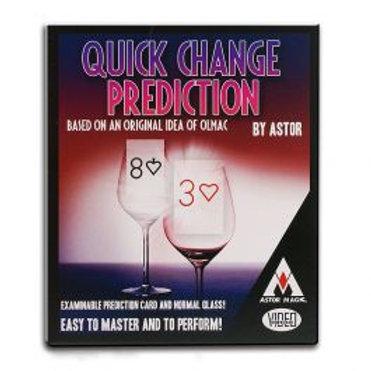 Predicción de cambio rápido de Astor