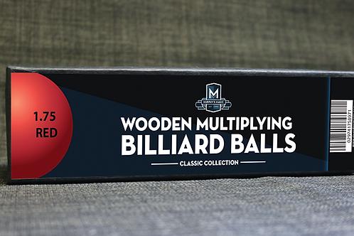 Bolas manipulación madera Rojas