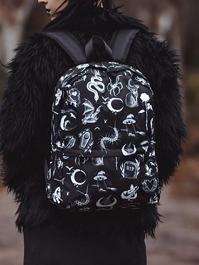 BACKPACK | Ghouls Club | by ASHTRAY ARTS