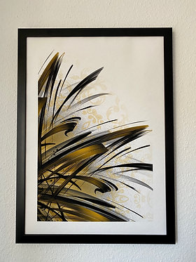 PRINT | Golden Mandala | by SPLIFF.One