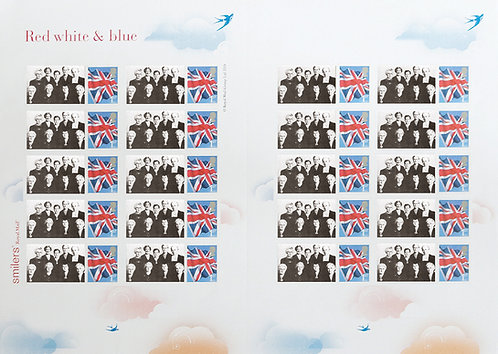 Full sheet of 20 Stamps - The Hotel