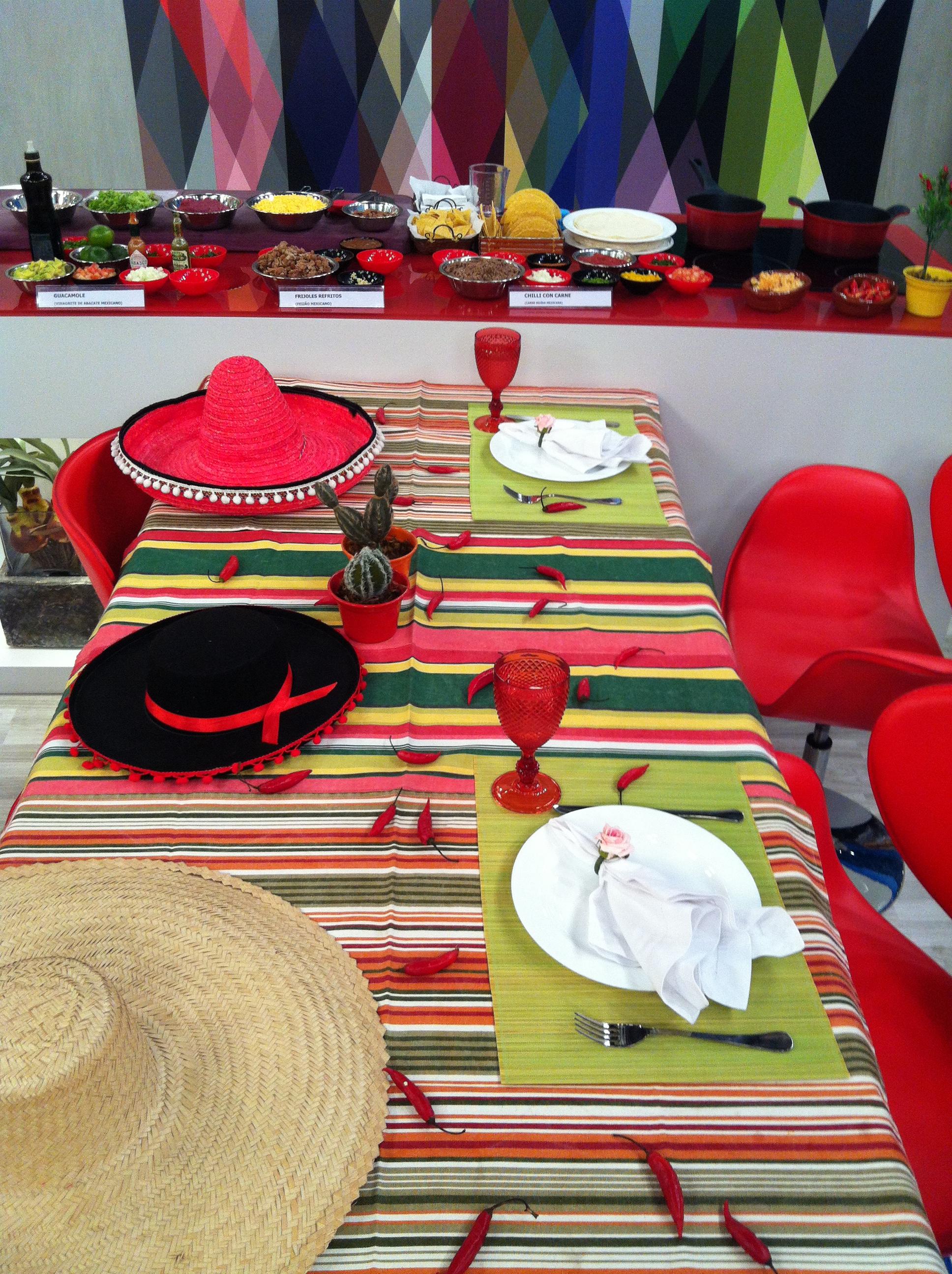 Buffet mexicano domiciliar