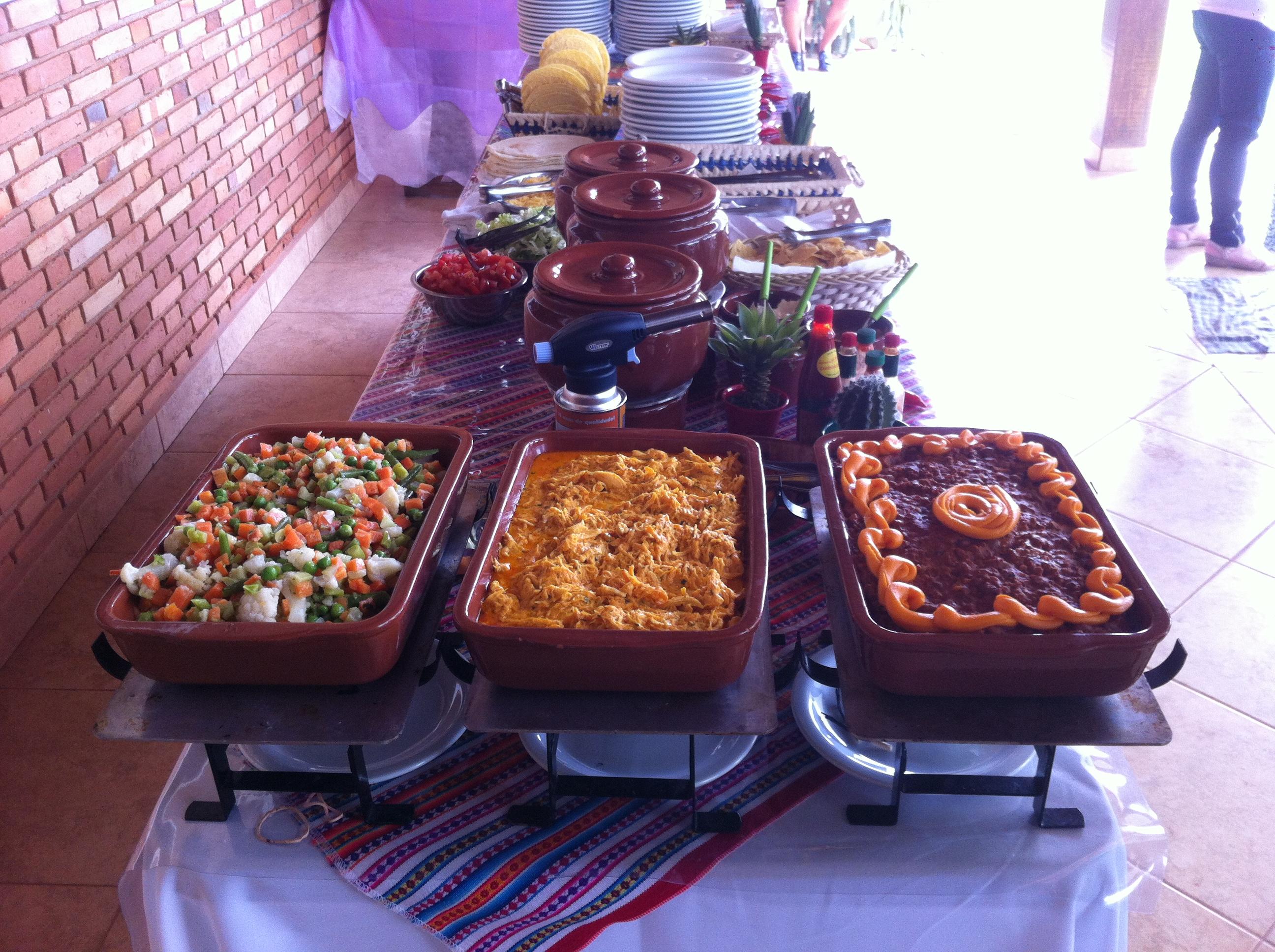 Buffet Mexicano para Eventos