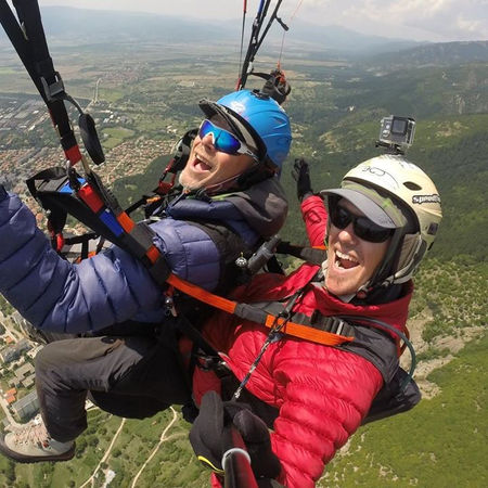 paragliding taster holiday bucket list