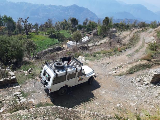 nepal mountain 4x4