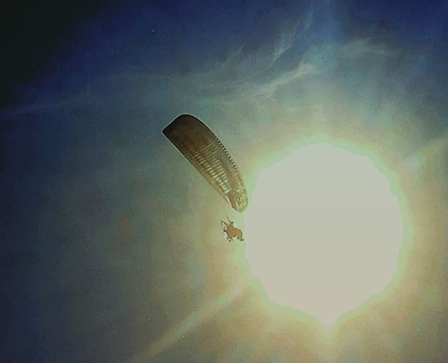 To the Black Sea and back by paramotor.