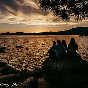 Jordan Family Sand Harbor Lake Tahoe