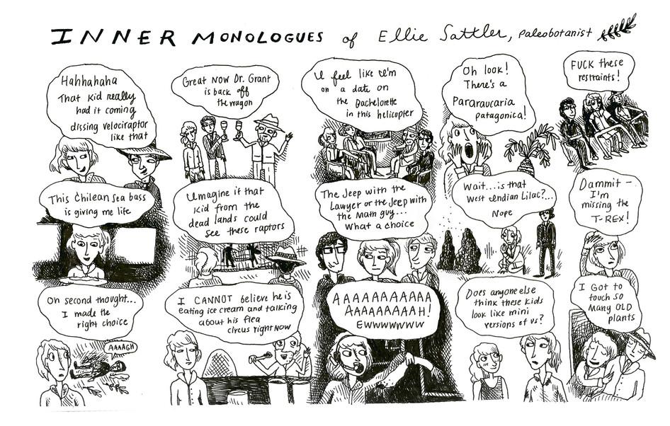 INNER MONOLOGUES ELLIE SATTLER