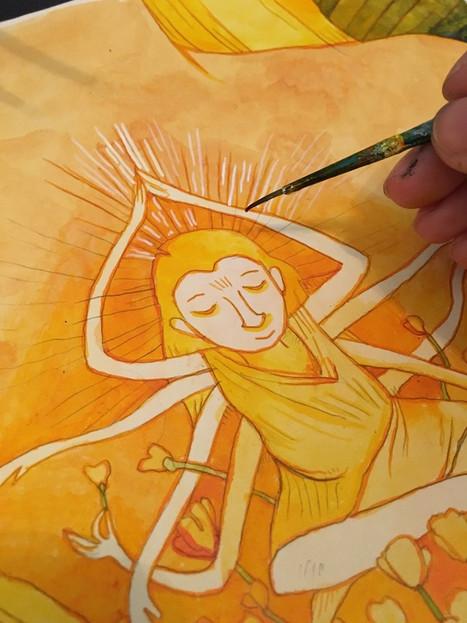 Goddess close-up 'Joy'