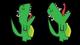 Green T-Rex (Unity)