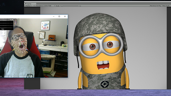 Minion Face Tracker (Unity)