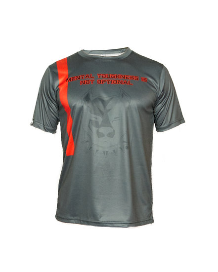"T SHIRT TECNICA ""Mental toughness is not optional"" TE 16"