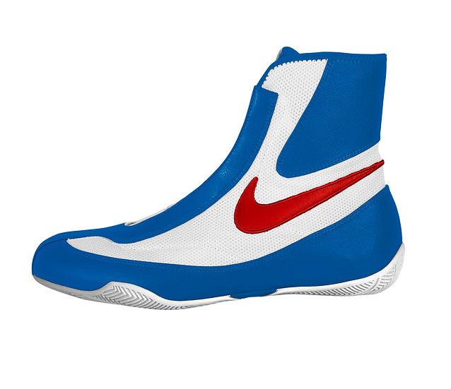 Nike Machomai Mid Tricolore Blu