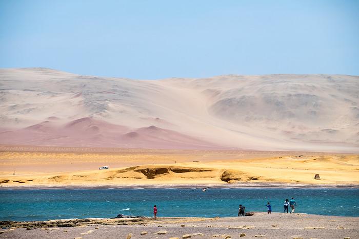 Die Farben der Wüste   2 Fotos