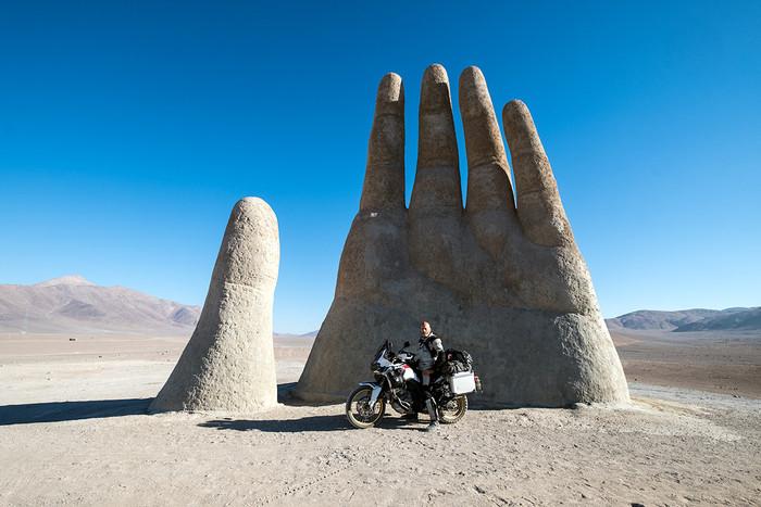 Die Hand der Wüste