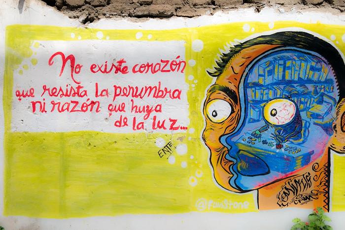 Streetart in Trujillo   2 Fotos