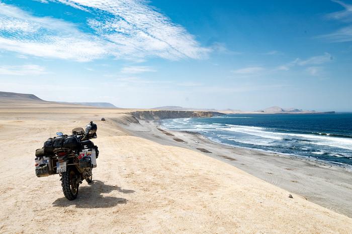 In der Wüste, am Meer