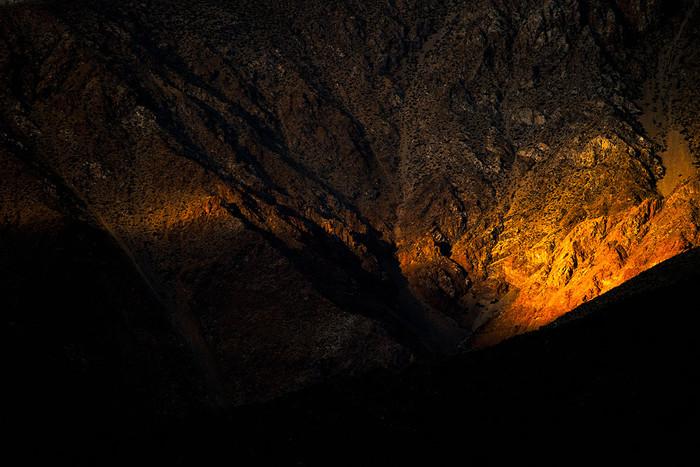 Feuer in den Bergen