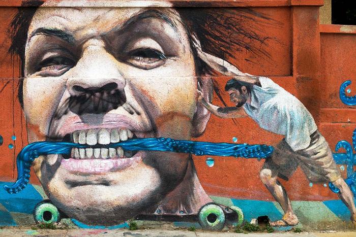 Streetart in Valparaiso | 7 Fotos