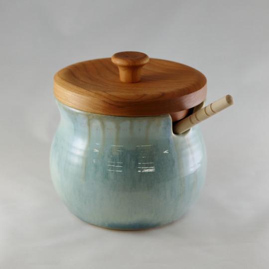 Ocean Honey Pot with Cherry