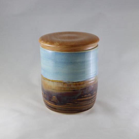 Desert Blue with Maple