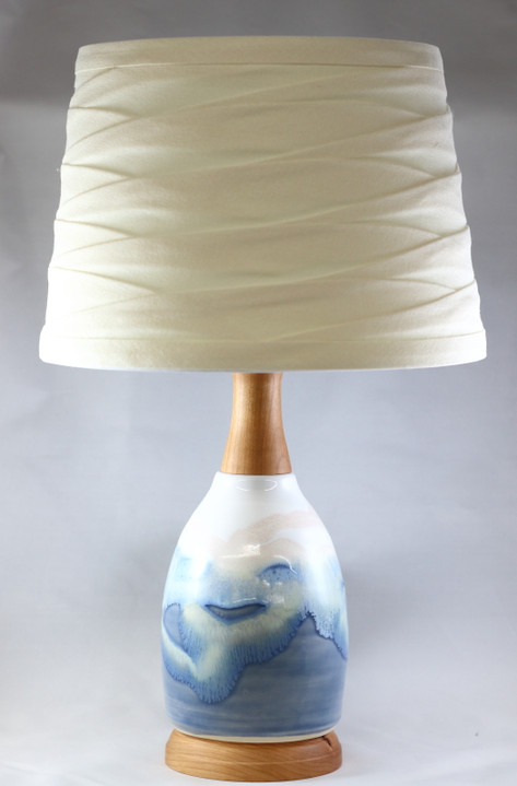 Ocean Lamp with Cherry