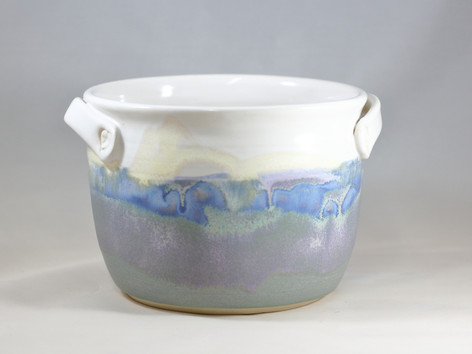 Painted Sky Kitchen Crock