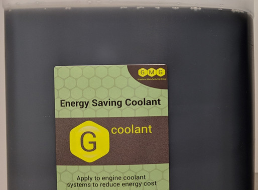 G Coolant - up to 48% energy saving with graphene enhanced coolant for engines & industrial chillers