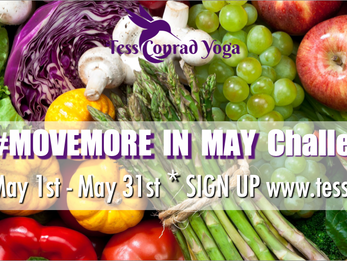 #EATMEATLESS #MOVEMORE in May