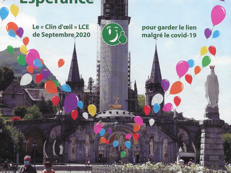 Clin d'œil LCE - Septembre 2020