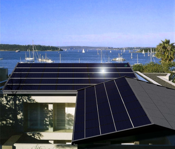 Hybrid photovoltaic/solar thermal roofs by Tractile Pty Ltd (Photo: Tractile Pty Ltd)