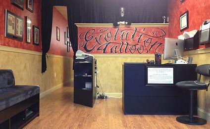 Tattoo Studio Entrance Lobby