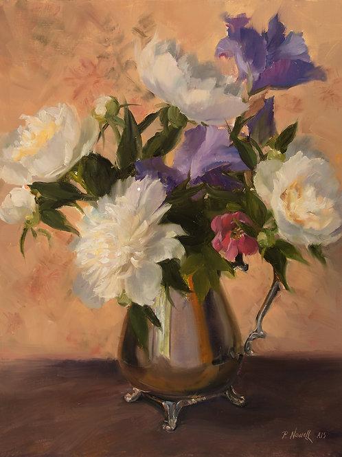 'Bouquet in Silver'