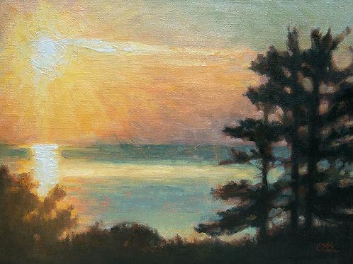 'Sunrise Silhouette'