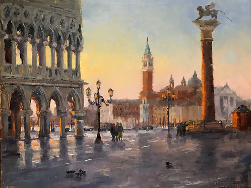 'Dawn at Mark's Square'