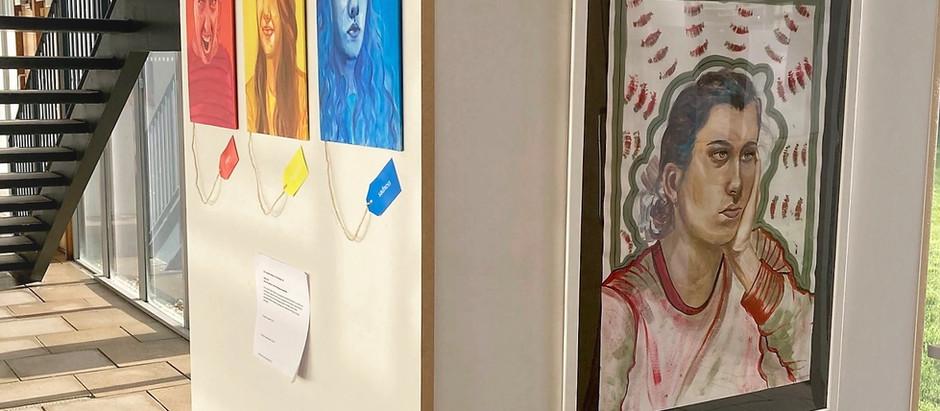 FAD exhibit 'The Giant Minute' in Atrium gallery