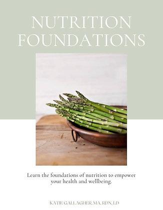 Nutrition Foundations E-Book