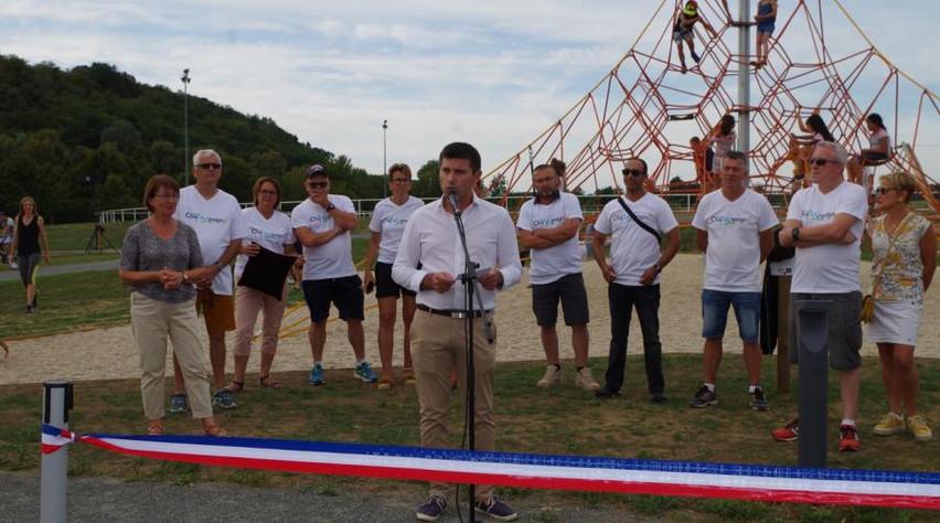 Inauguration de l'esplanade