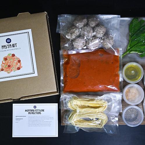 Home Pasta Kit - Meatball Fettucine