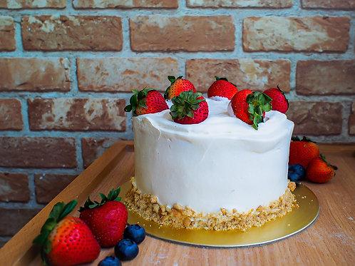 "8"" Earl Grey Strawberry Shortcake"
