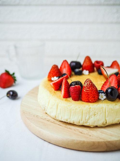 """8"""" Strawberry Souffle Cheesecake"""