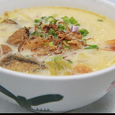 Fish Head Salted Cabbage Soup