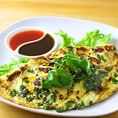Baby Oyster Omelette