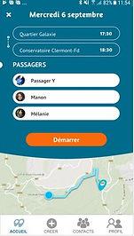 Keepmove covoiturage de proximité application mobile