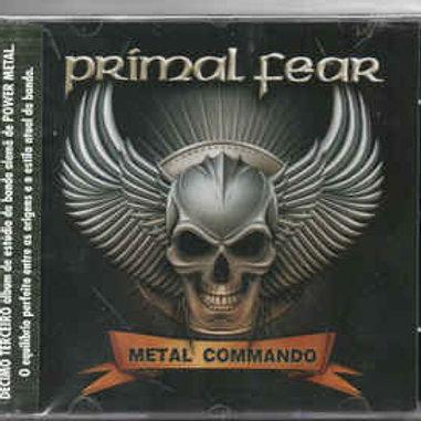 Cd Primal Fear Metal Commando