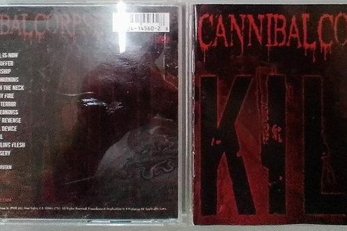 Cd Usado Cannibal Corpse Kill USA