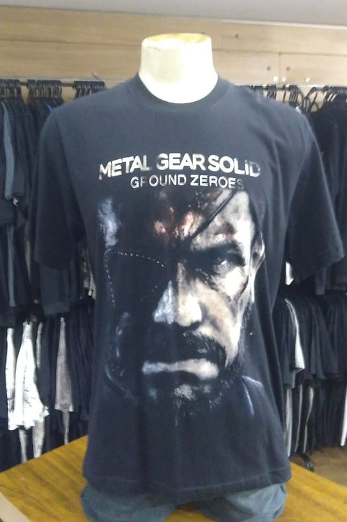 Camiseta Metal Gear Ground Zeroes MGS5