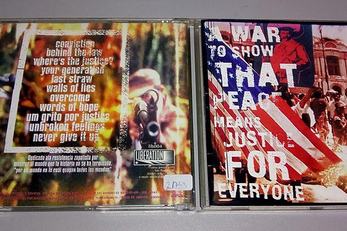 Cd Usado Self Conviction A War To Show That Peace Means...