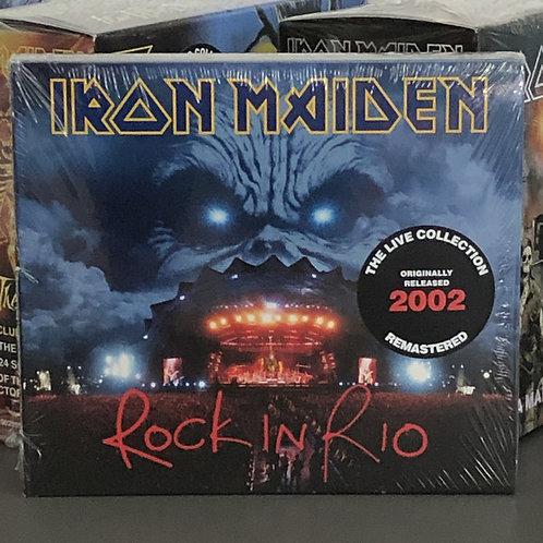 Cd Iron Maiden Rock In Rio Duplo Digipack